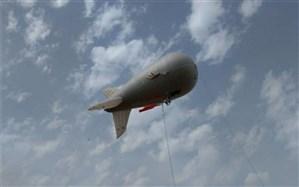 بالن مخابراتی بر فراز پلدختر به پرواز درآمد