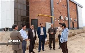 بازدید مدیرکل آموزش و پرورش خراسان شمالی از اردوگاه دانش آموزی شهید چمران