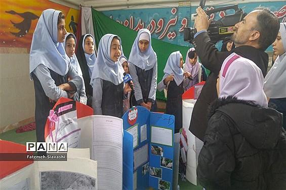 درخشش دانشآموزان دبستان مائده منطقه خزل در جشنواره جابربن حیان