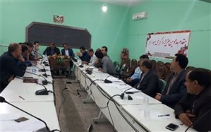 برگزاری جلسه ستاد بحران شهرستان پلدختر لرستان
