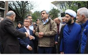 اسکان ساکنان مناطق آسیب دیده املش در مکانی دیگر