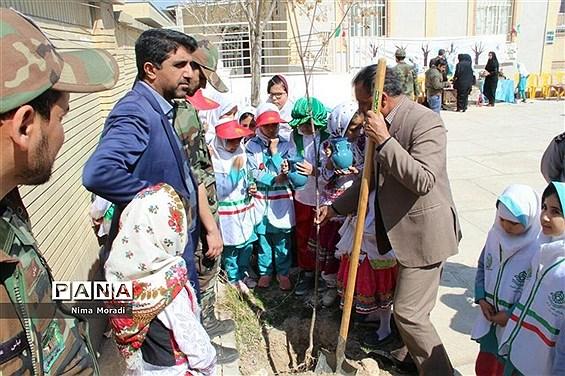 جشن درختکاری در خراسان شمالی
