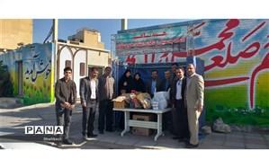 افتتاح پایگاه جمع آوری کمک های مردمی و فرهنگیان به سیل زدگان استان