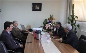 دیدار فرماندار ری با فرمانده ناحیه مقاومت حضرت عبدالعظیم الحسنی (ع)