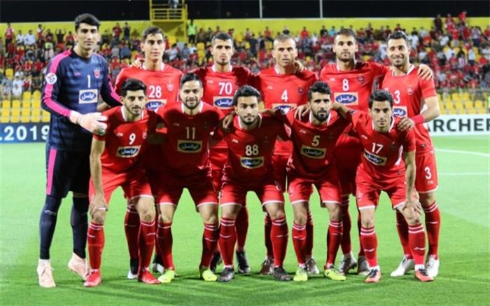 پرسپولیس تیمی 2018