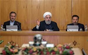 روحانی: هر گاه  دشمنان به میز مذاکرهای که خودشان ترک کردند بازگشتند، راه به روی آنها بسته نیست