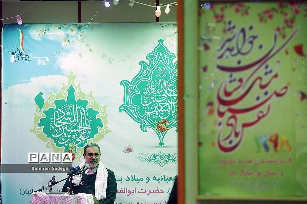سخنرانی وزیر آموزش و پرورش در حمایت از سپاه پاسداران انقلاب اسلامی