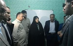 بازدید شبانه رییس سازمان نوسازی مدارس از مدارس مناطق محروم لرستان