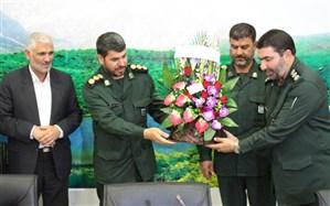 مدیر کل آموزش و پرورش کهگیلویه و بویراحمد  با فرمانده سپاه فتح دیدار کردند