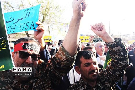 تجمع مردمی من یک سپاهیام در تبریز