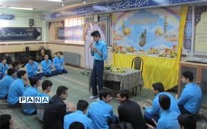 گرامیداشت اعیاد شعبانیه در دبیرستان شهید صدوقی دوره دوم
