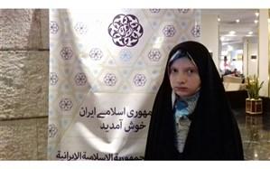 نوجوان حافظ روشندل ایرانی: در کنار خواندن آیات قرآن دقت در معانی از اهمیت خاصی برخوردار است
