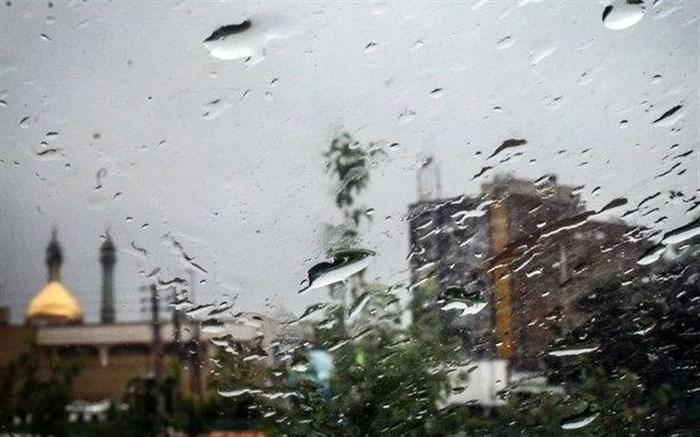 باران در قم