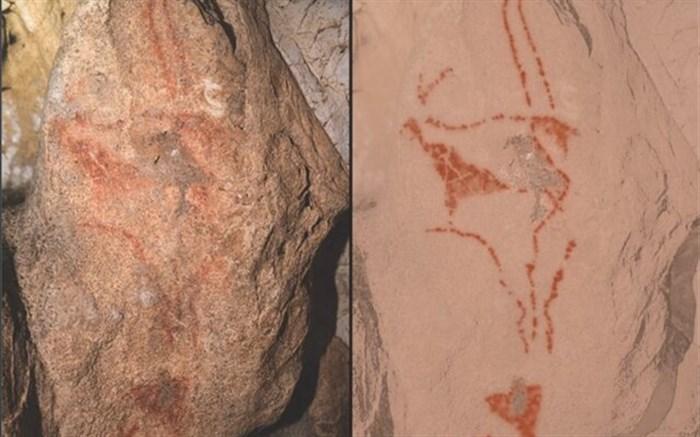 کشف نقاشیهای ۳۰ هزارساله در یک غار