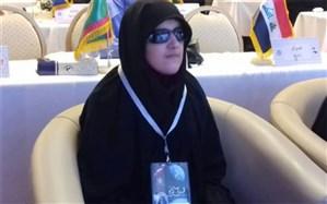 شرکت کننده  روشندل ایرانی: انس باقرآن کریم  راه روشن رسیدن به سعادت است