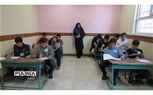 اجرای مرحلهی استانی مشکات در مدرسه نیکان