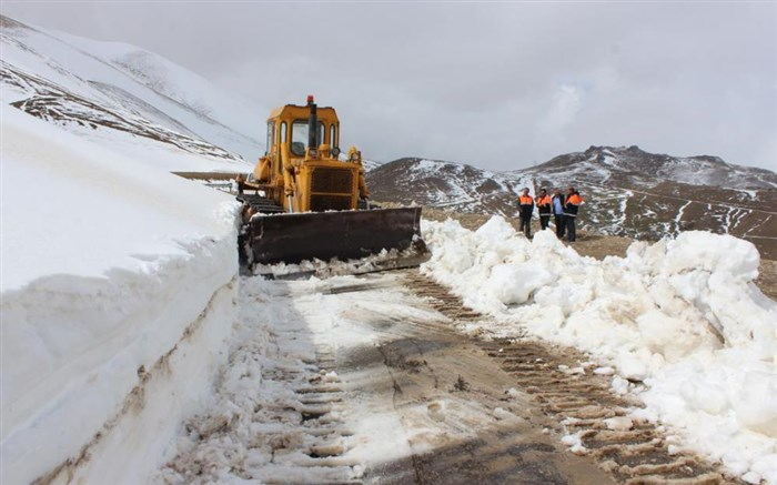 برف روبی جاده های اردبیل