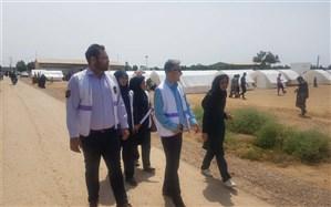 واحد اورژانس اجتماعی امیدیه به یاری مناطق سیل زده خوزستان شتافت
