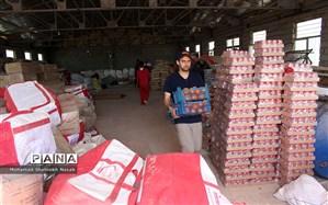 آخرین وضعیت امدادرسانیها، توزیع اقلام کمکی و اسکان سیلزدگان خوزستان
