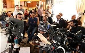 بازدید مدیر شبکه دو سیما از پشت صحنه سریال «دل دار»