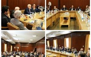 دیدار ظریف با اعضای هیات علمی دانشکده حقوق و علوم سیاسی دانشگاه تهران