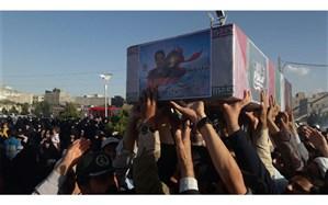 امام جمعه پردیسان: شهید جلالی نسب قلب تپبنده ای برای پردیسان است / مراسم تشییع پیکر شهید جلالی نسب + عکس