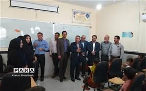 تشکیل و راه اندازی کلاسهای درس توسط خیرین آموزشی شهرستان امیدیه در پادگان شهید غلامی حمیدیه