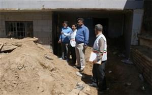 معاون فعالیتهای دانشآموزی سازمان دانش آموزی  از مناطق سیلزده پلدختر بازدید کرد