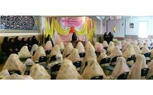 جشن تکلیف دانشآموزان مدرسه حضرت خدیجه (س)