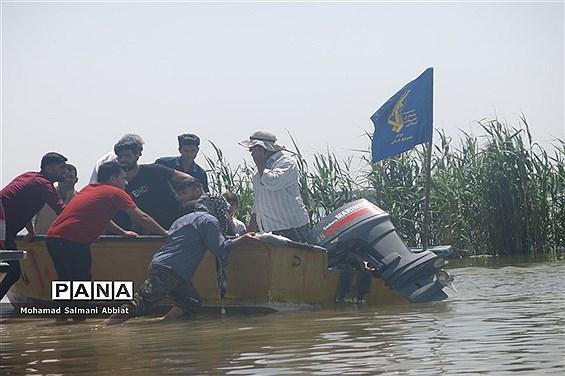 روندکمکرسانی به روستاهای بخش اسماعیلیه اهواز