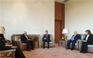 دیدار ظریف و بشاراسد در سوریه