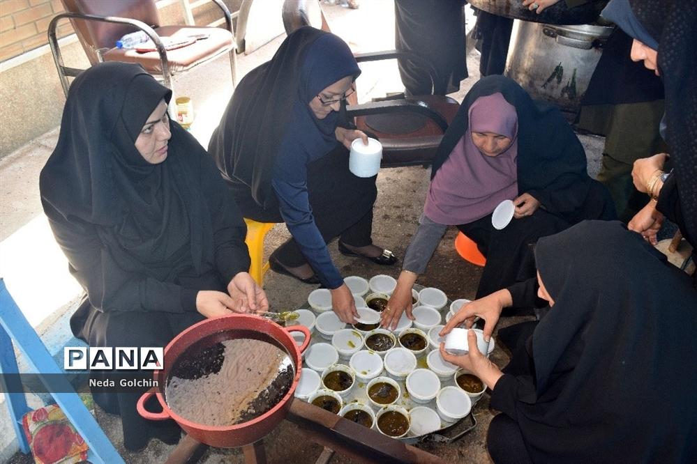 سیل مهربانی فرهنگیان ناحیه 3 اهواز