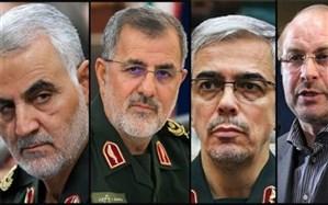 پاتک مجازی اینستاگرام علیه سپاه؛ صفحات کدام یک از سرداران ایرانی بسته شد؟