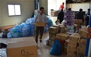کمکهای داوطلبانه نقدی و غیرنقدی دانش آموزان برای سیل اخیر جمعآوری شد