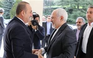 دیدار وزرای امور خارجه ایران و ترکیه در اصفهان