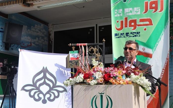 """همایش استانی  پویش """"زنگ مهربانی """"برای کمک به  سیل زدگان در مشهد برگزار شد"""