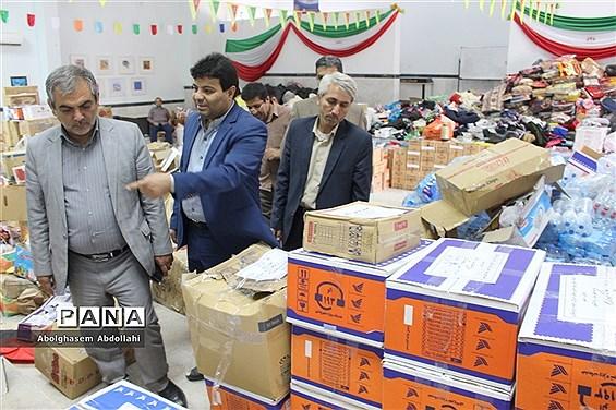 کمکهای دانشآموزی و فرهنگیان استان بوشهر به مناطق سیل زده کشور