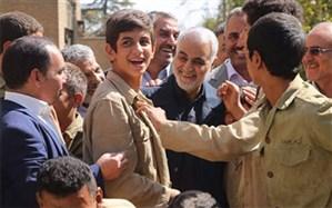 حضور سردار سلیمانی و ابومهدی المهندس در شادگان + تصاویر