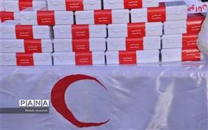 کمکهای هلال احمر امارات و عربستان به سیلزدگان وارد کشور شد + تصویر