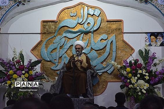 برگزاری جشن نیمه.شعبان در مسجد مهدیه بیرجند با سخنرانی حجت الاسلام والمسلمین دانشمند