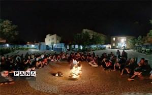 اردوی شبی در مدرسه در دبیرستان شهید رمضانخانی