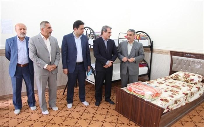 اسکان 70فرهنگی متضرر از سیل خوزستان در چهار مرکز اسکان موقت