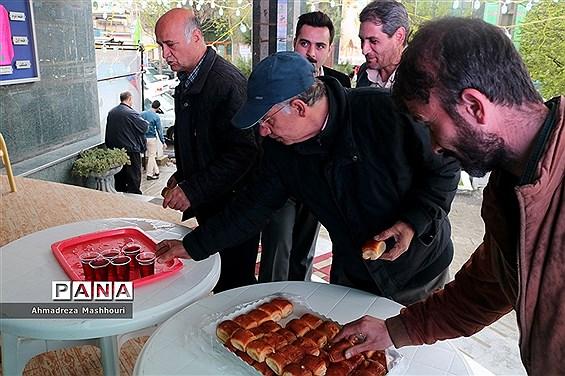 ایستگاه صلواتی سازمان دانشآموزی آذربایجان شرقی به مناسبت نیمه شعبان