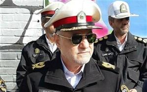 بازدید رئیس پلیس راهور ناجا از ستادهای خدمات رسانی شهرداری قم