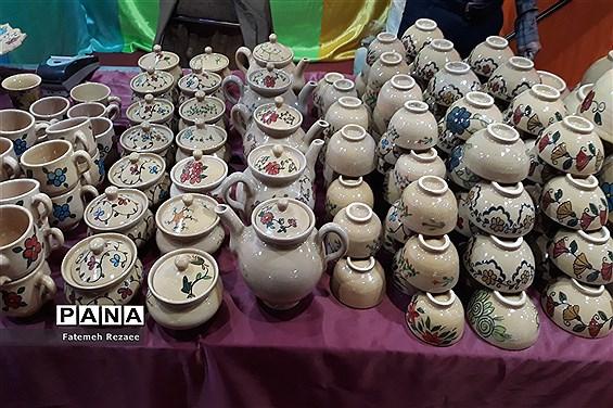 رونمایی طرح شمسه خورشید در اولین سالگرد تأسیس مدرسه صنایع دستی ایران