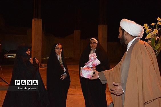 برپایی جشن میلاد در هیات صاحب الزمانی شهرستان خوسف