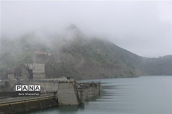افزایش 36 درصدی ذخیره آب در سدهای مازندران