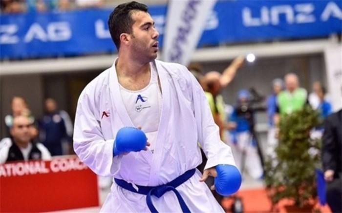 کسب مدال طلای لیگ جهانی کاراته توسط دلاورمرداسلامشهری