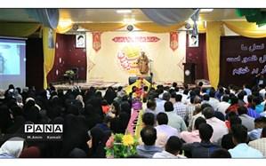 مراسم شب احیاء نیمه شعبان در مجتمع آموزشی نور بندرعباس برگزار شد