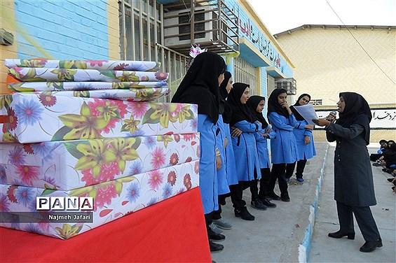 جشن نیمه شعبان در آموزشگاه شهید انصاری زرین دشت